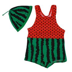 Red Watermelon Swimsuit