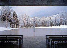 Church on water, Hokkaido.    Fabulous place for a wedding.