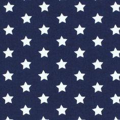 Classic Stars 0,8 cm, 16 - marineblau - Baumwollstoffe Sterne - DIY-Tutorial Kuscheldecke selber nähen - Baby und Kind - Stoffe - Nähanleitung für einen Nikolausstiefel - stoffe.de