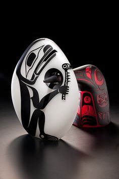 "... PRESTON SINGLETARY .... ""When I began to experiment with using designs from my Tlingit cultural heritage my work began to take on a new purpose and direction. My work with glass transforms the notion that Native artists are only best when traditional materials are used. It has helped advocate on the behalf of all indigenous people—affirming that we are still here—that that we are declaring who we are through our art in connection to our culture."""