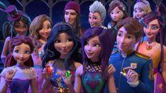 Descendants wicked world Princess Pocahontas, Princess Rapunzel, Princess Aurora, Disney Princess, Descendants Wicked World, Disney Descendants, Decendants, Old Disney, Queen Elsa