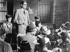"Gregory Peck in ""To Kill A Mockingbird"" (Robert Mulligan, 1962)"