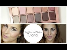 Making Up the Midwest: Maybelline The Blushed Nudes Tutorial