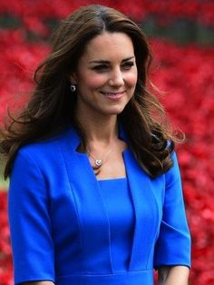 Duchess Kate at the poppy ceremony