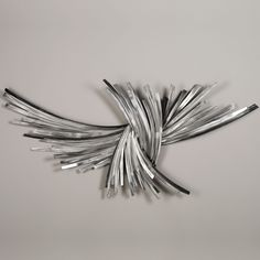 Infinity Silver Wall Sculpture