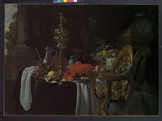 Jan Davidsz de Heem (Dutch, Utrecht 1606–1683/84). Still Life: A Banqueting Scene, probably ca. 1640–41. The Metropolitan Museum of Art, New York. Charles B. Curtis Fund, 1912 (12.195)