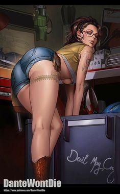Devil May Cry, Crying, Joy, Art Girl, Wonder Woman, Superhero, Artist, Games, Anime
