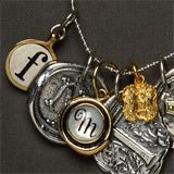 Personalized Charms, these pieces are so cool, love the 'M' natch!
