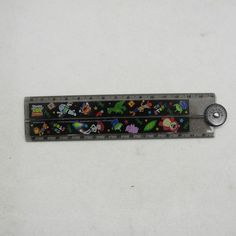 Disney Toy Story Painter Series Black Plastic foldable 30cm ruler (Japan)