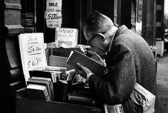 Man reading © André Kertész
