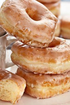 Crispy and Creamy Homemade Doughnuts Recipe