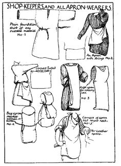 409 Best Medieval / SCA Clothing Patterns & Tutorials