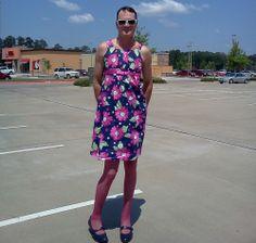 Man Wearing Dress