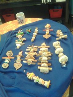 Homemade chew toys, material to use & tips to dye wood using sugar free kool aid or food dye