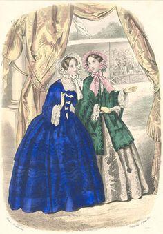Het Toilet  Tijdschrift voor vrouwelijke handwerken. bewerkt door het Bureau du Follet, te Parijs  October 1852 (1764)  Anaïs Toudouze
