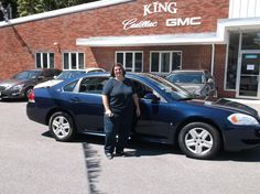 Congratulations, Carole, on buying your new 2009 Chevy Impala. Best wishes from Rick Brown and the entire King Cadillac GMC team!