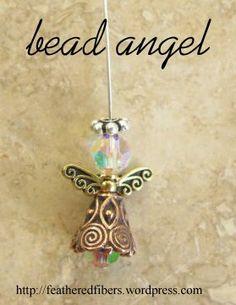 how to: bead angel