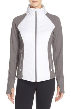 Zella 'Zelfusion' Quilted Jacket available at #Nordstrom