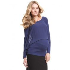 Twilight+Sheer+Flutter+Nursing+Top