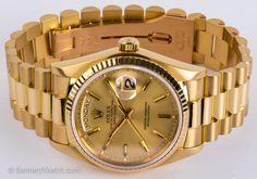 Rolex - Day-Date President : 18038 : Bernard Watch