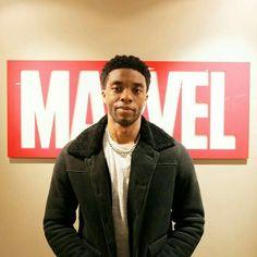Chadwick Boseman. Black panther
