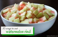 10 Ways to Eat Watermelon Rind - My Heart Beets