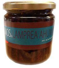 Lomos de Lamprea Ahumada en Aceite de Arbo, en Galicia