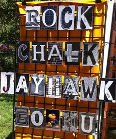 "The mantra ""Rock Chalk Jayhawk"" was coined by the University Science Club at KU in 1866.  it was symbolic of the limestone, also known as chalk rock, surrounding Mount Oread, the site of the Lawrence Campus."
