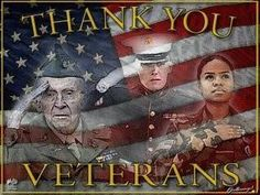 Thank you to all our veterans and their families! Greater love hath no man than this, that a man lay down his life for his friends. John 15:13
