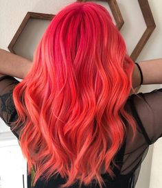 """Pulp Riot Hair Color on Instagram: """"Candy and Lava... @cristencolorshair is the artist... Pulp Riot is the paint."""" • Instagram"""