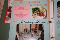 A Plate at My Table - Hospitality and Entertaining: Hospitality and Entertaining Notebook