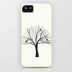 bird tree iPhone & iPod Case by karen owens - $35.00