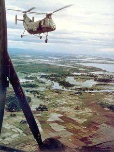 Helicopters of the Vietnam War. #VietnamAirWar