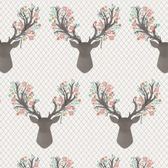 Hawthorne Threads - Fawn - Going Stag in Tulip