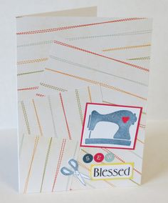Sew Blessed So Blessed Sewing Themed Christian by stufffromtrees on Etsy