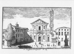 Chesa di S. Stefano, Piazza S. Stefano,  Dal Re, 1745.
