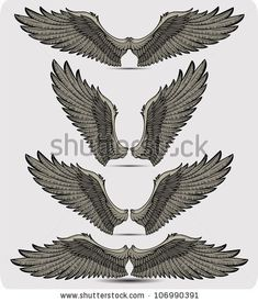 Trendy Tattoo Back Eagle Angel Wings Ideas Eagle Wing Tattoos, Wing Tattoo Men, Wing Tattoo Designs, Hals Tattoo Mann, Tattoo Hals, Chest Tattoo, Back Tattoo, Tattoo Neck, Future Tattoos