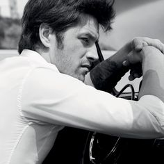 Vinnie Woolston in a video directed by Colin Tilley for YSL Beauty's L'Homme