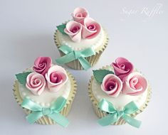 image of Rose Cupcakes