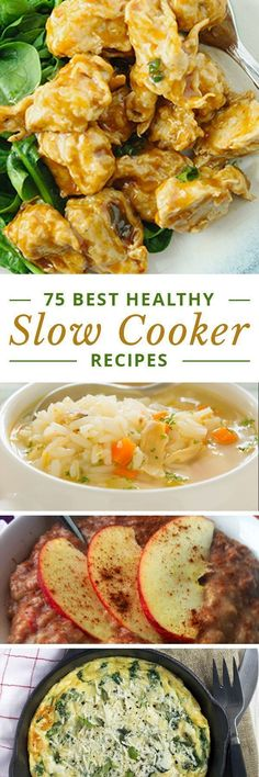 75 Best Slow Cooker Recipes from Skinny Ms. #SlowCooker