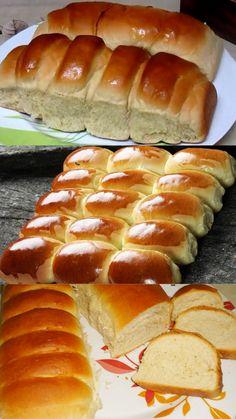 Pav Recipe, Bread Recipes, Cooking Recipes, Arabic Food, Dinner Rolls, Homemade Cakes, Polenta, How To Make Bread, Food Cravings