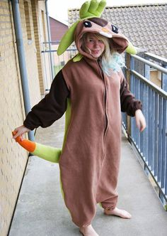 Chespin Kigurumi Onesie Costume PREMADE by MariasCreativeCorner