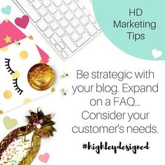 Be strategic about your business blog! Answer a FAQ or think of a headline that's rich with keywords   #seo #tips #webdesigner #blogger #socialmedia #marketing #graphicdesign #mompreneur #lancasterpa #creative #canva #quotes #typography #flatlay #photography