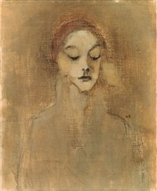 helene schjerfbeck, the gatekeeper's daughter