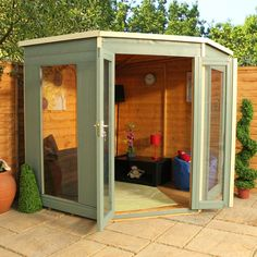 7 x 7 Waltons Premier Corner Summerhouse on Walton Garden BuildingsTotal: £429.99 R.R.P £669.99 | Save: £240.00(35)%