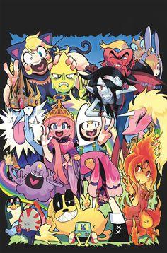 Nos encanta esta portada tan manga. #AdventureTime  21. Ryo Nishiguchi. #HoraDeAventuras