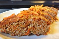 Karottenbrot mit Kokos - Paleo frühstück