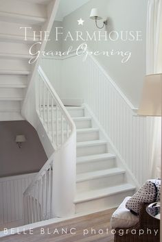 :: Havens South Designs :: says you can contemporize or clean up visual clutter when you paint it all white!