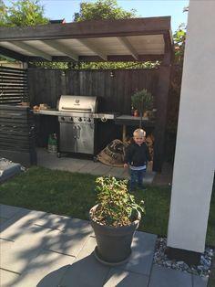 Grill hytte - tømrerarbejde - tømrermester Christian Skiveren