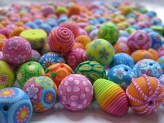 30 easy diy polymer clay beads ideas (5)